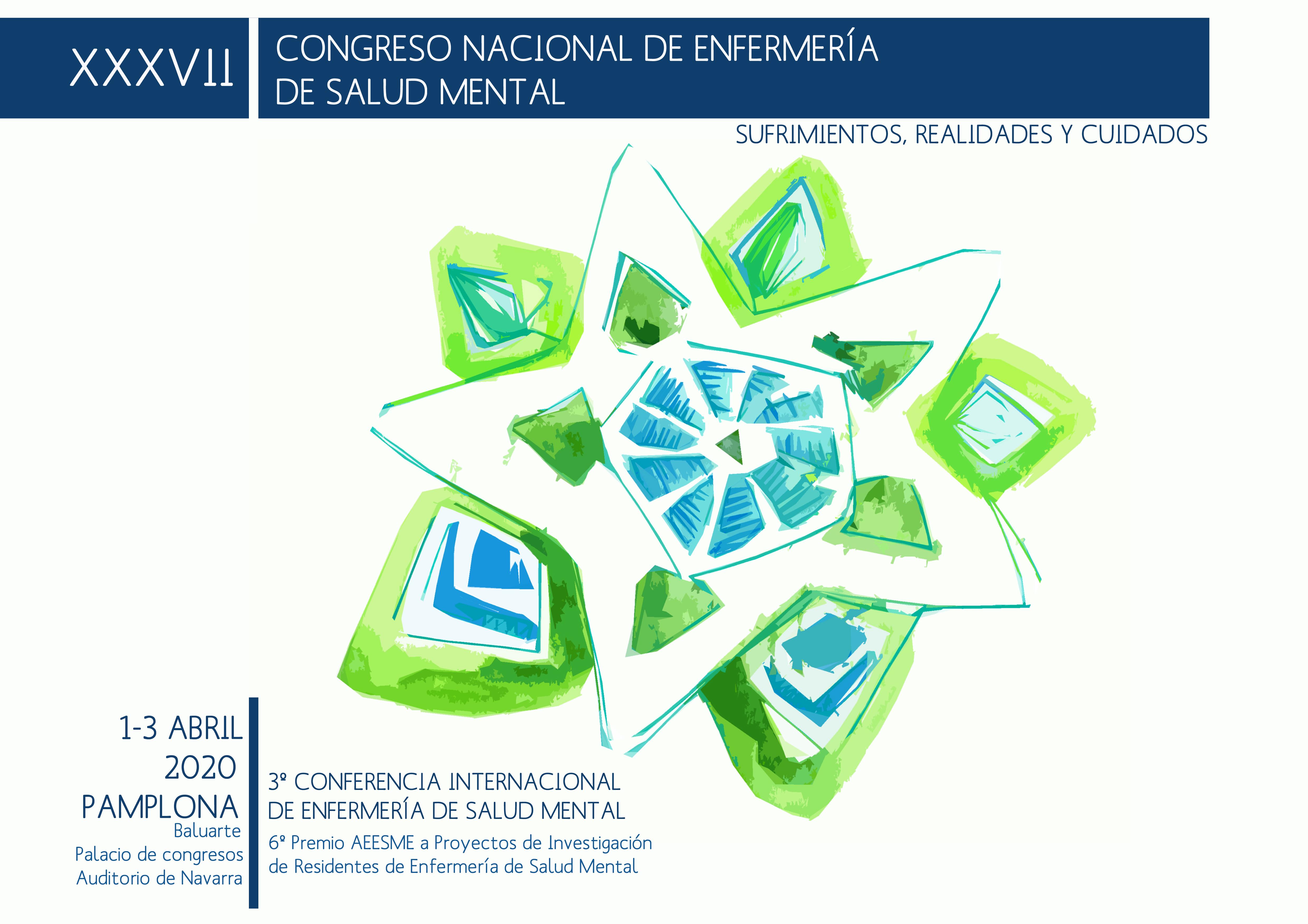 XXXVII Congreso Nacional de Enfermeria de Salud Mental. @ Palacio de Congresos y Auditorio de Navarra